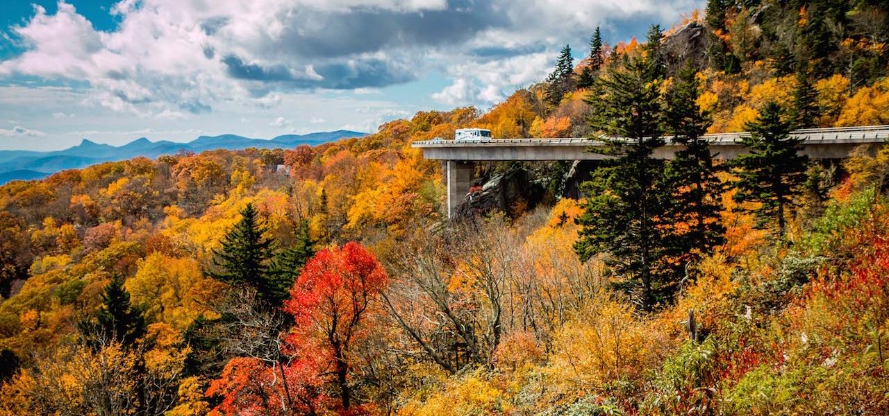 Blue Ridge Parkway - Linn Viaduct