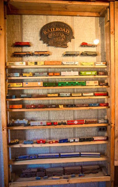 Clinchfield Model Railroad Display at Emerald Village in Little Switzerland NC