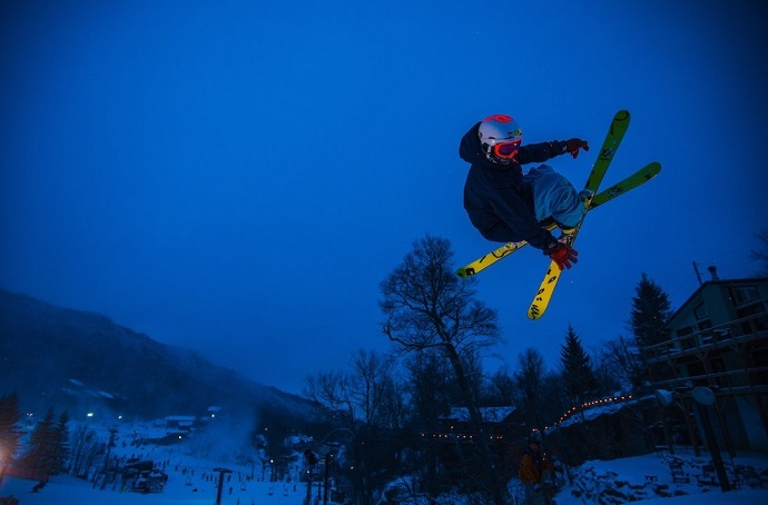 Skiing Beech Mountain Resort NC