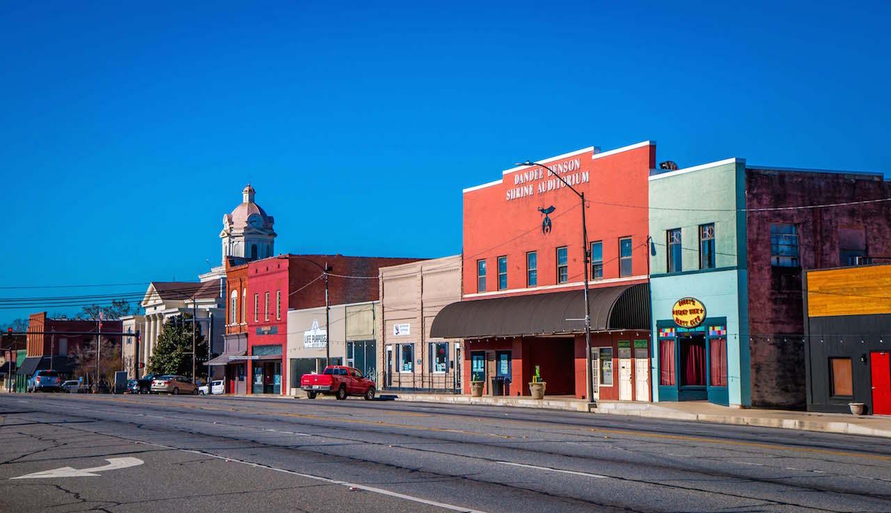 Downtown Summerville GA