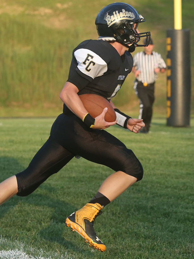 Matt Bary: A strong night for the Buffaloes first win of the season.
