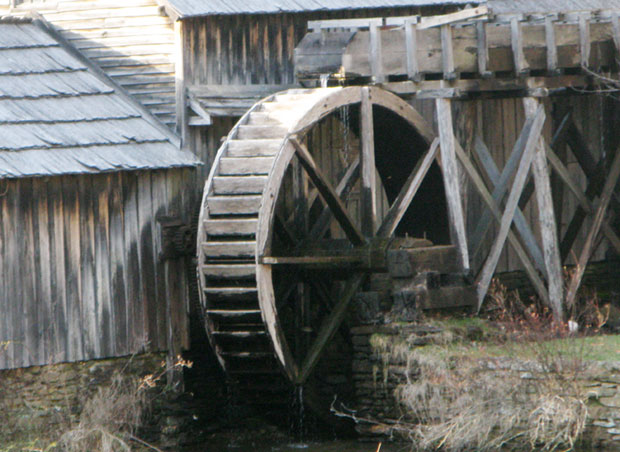 Mabry Mill: Slated for badly-needed repairs.