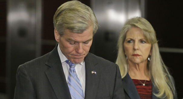 ormer Virginia Governor Bob McDonnell and his wife, Maureen.  (AP Photo/Steve Helber)
