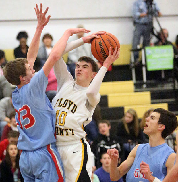 Caleb Tanner drives for another score