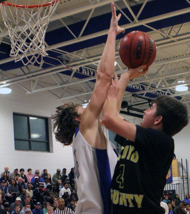Justin Condiff of the Buffaloes:  A 17-point night.