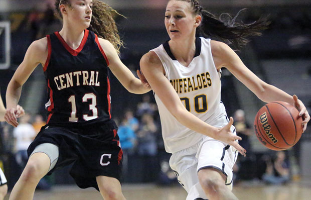 The Lady Buffs dispose of Wise County-Central in 2012 State Championship game.
