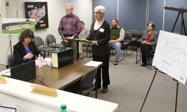 New River Valley Community Action presents budget request at the February board meeting.