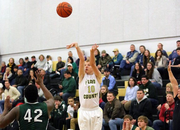 Michael Osborne's three-pointer put the game into overtime