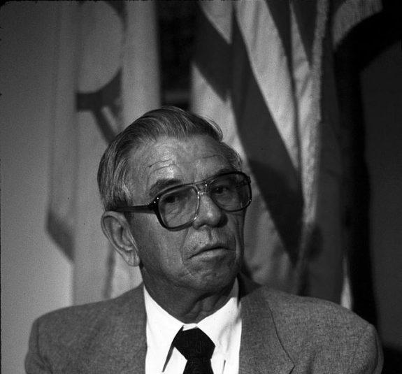 Then Congressman Manuel Lujan in 1986.