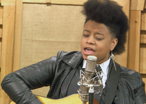 Southern Gothic, alt-country blues singer Anythyst Kiah.