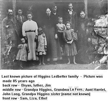 william higgins ledbetter family two