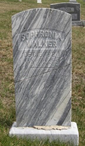 sophronia walker