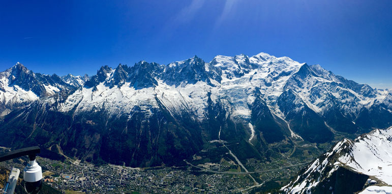 Mont Blanc Massif Yoga Retreats Chamonix Brevent