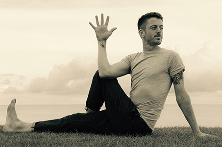 yoga hiking autumn chamonix mont blanc french alps relaxation massage retreats chalet Serena Jacuzzi michael jarvis