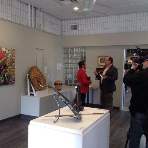 Art in Action pre-tour exhibition, Art Gallery of Burlington