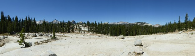 Heading out from Tuolumne Meadows