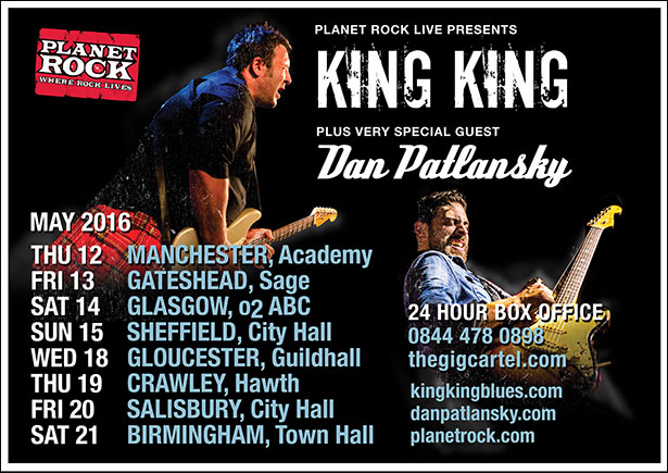 Dan Pat King King Tour