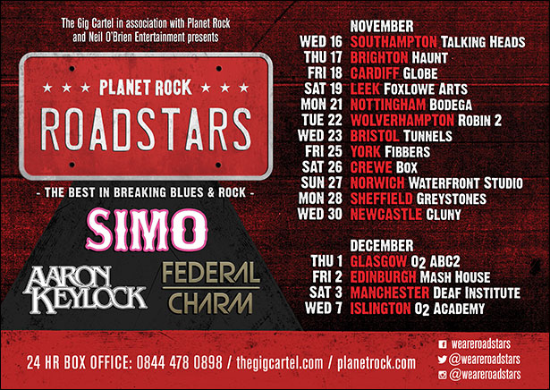 Roadstars Hit Cardiff SIMO Keylock and Federal Charm