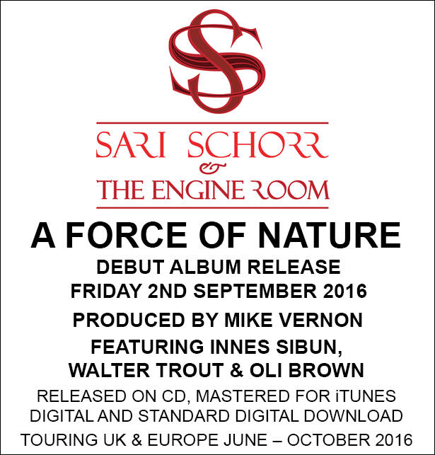 September Sari Schorr A Force Of Nature Releases Debut