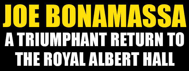 Joe Bonamassa Special Shows Albert Hall 2017