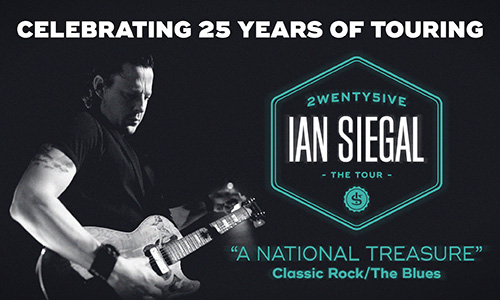 IAN SIEGAL BAND: THE TWENTY-FIVE TOUR – NOV 2016
