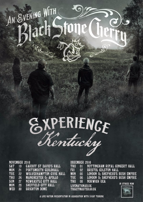 Black Stone Cherry Bringing Kentucky To Cardiff