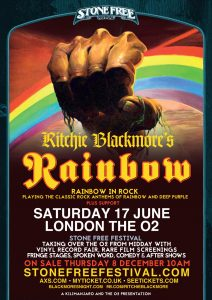 Blackmore Rainbow In Rock UK Tour 2017