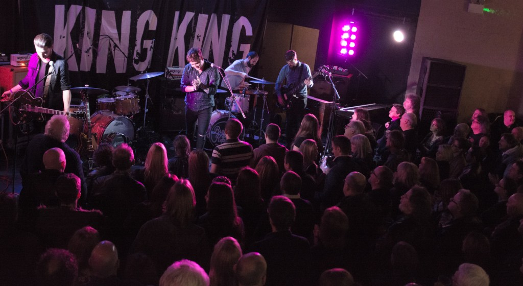 King King turned up the Blues thermostat Live in Cardiff