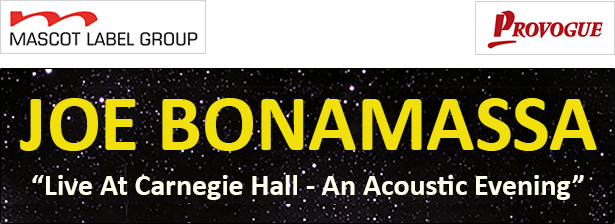 Joe Bonamassa Live At Carnegie Hall - An Acoustic Evening Out June 2017