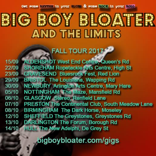 Big Boy Bloater On Tour Arrives at The Louisiana Bristol