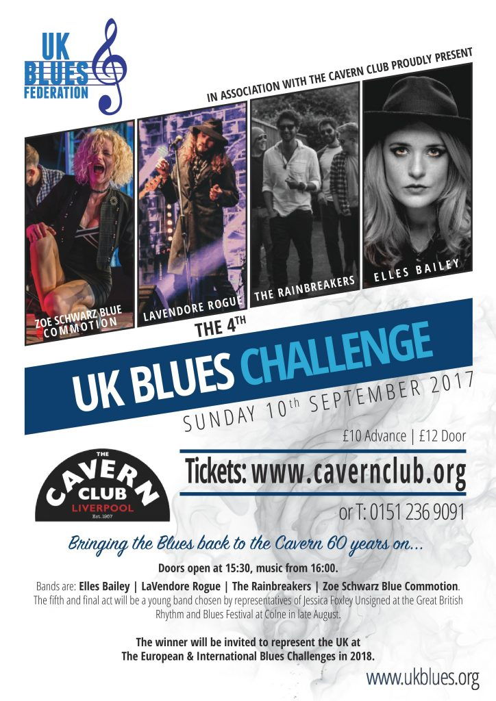 Rainbreakers Talks About 2017 UK Blues Challenge