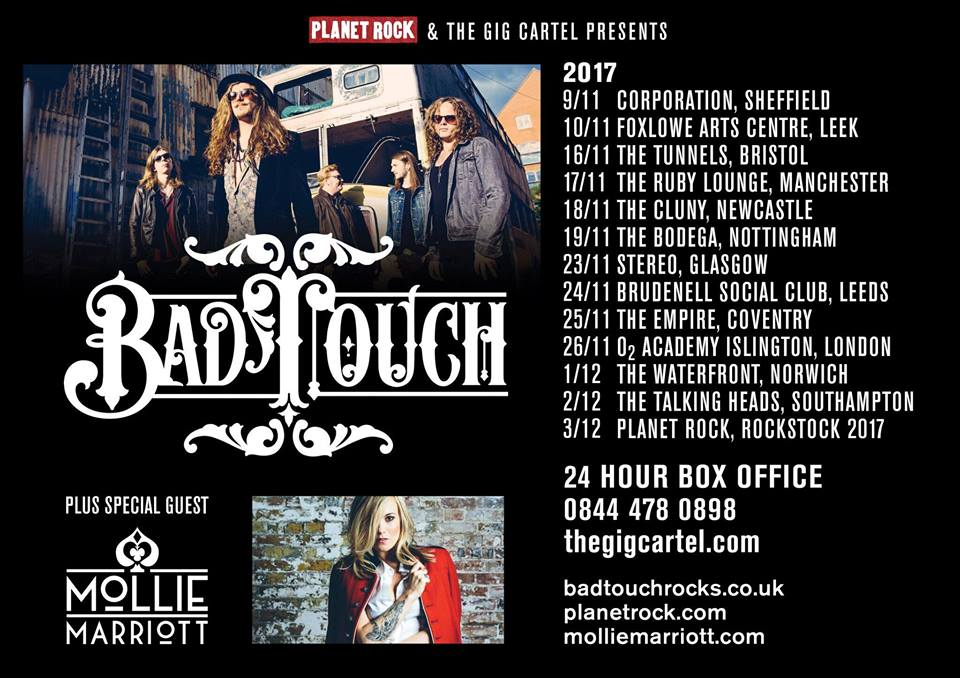 Tonight Bad Touch Headline The Tunnels Majestically