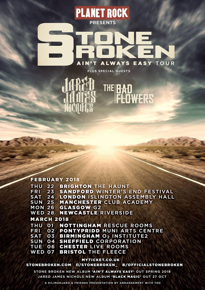 2018 UK Tour Dates