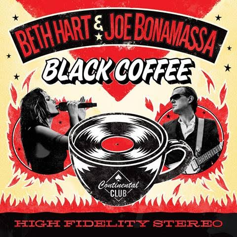 Steaming Hot Black Coffee Courtesy Of Hart Bonamassa Combo