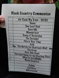 Black Country Communion Live In Wolverhampton