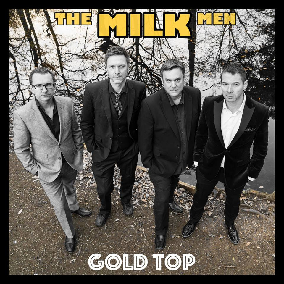 Gold To New Album Delivered By The Milk Men