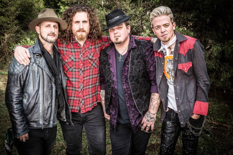 Black Stone Cherry Planting a Rock Fueled Family Tree