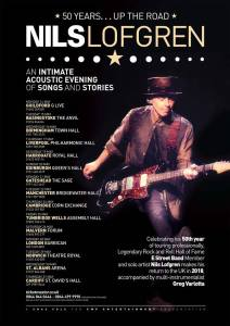 Acoustic Nils Lofgren 50 Years Up The Road