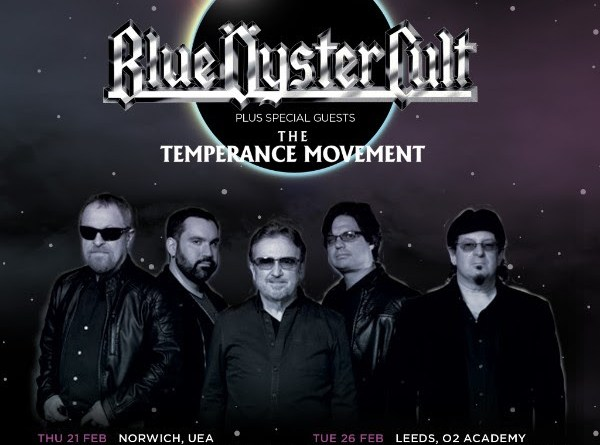 2019 Diary date as Blue Öyster Cult announce UK tour