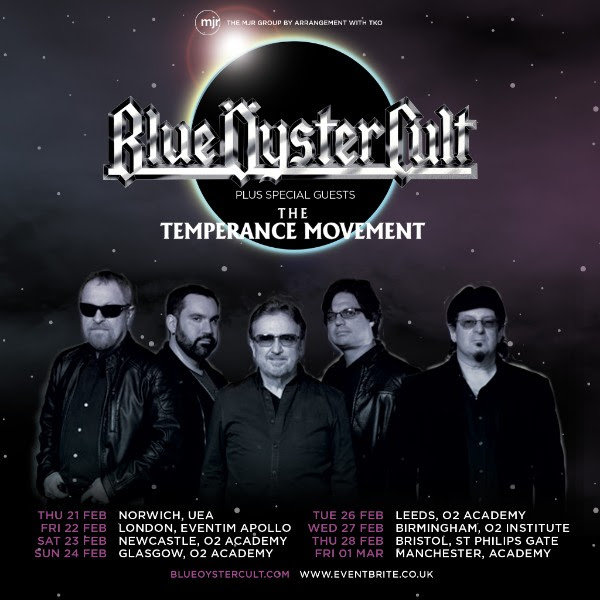 Blue Öyster Cult announce UK tour