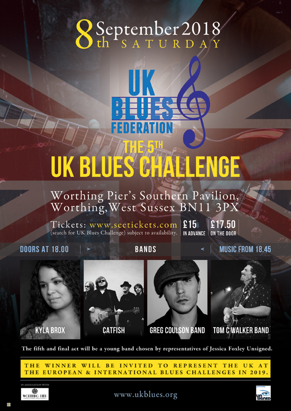 UKBlues 2018 Challenger Tom C Walker In Conversation