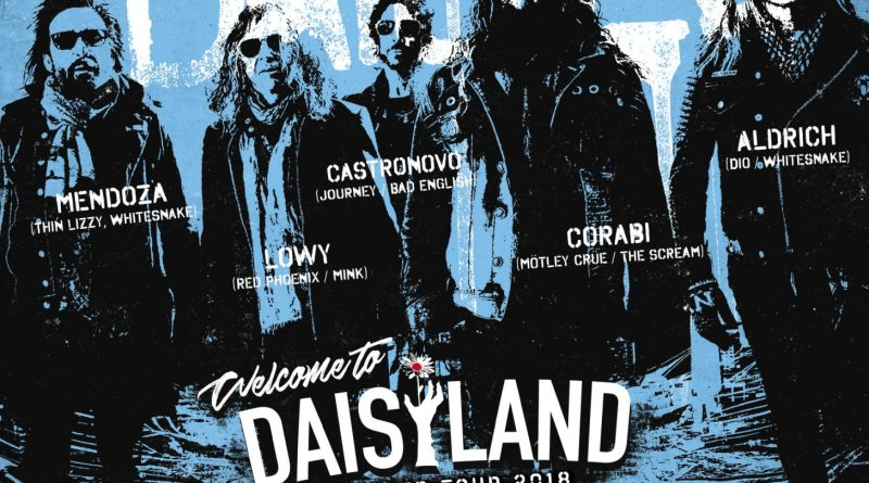 WELCOME TO DAISYLAND The Dead Daisies Back in The UK