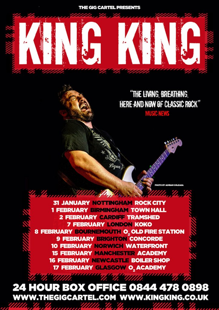 King King Opens 2019 with UK Tour