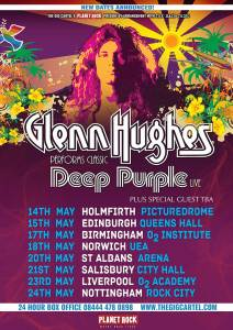 2019 Glenn Hughes Performs Classic Deep Purple