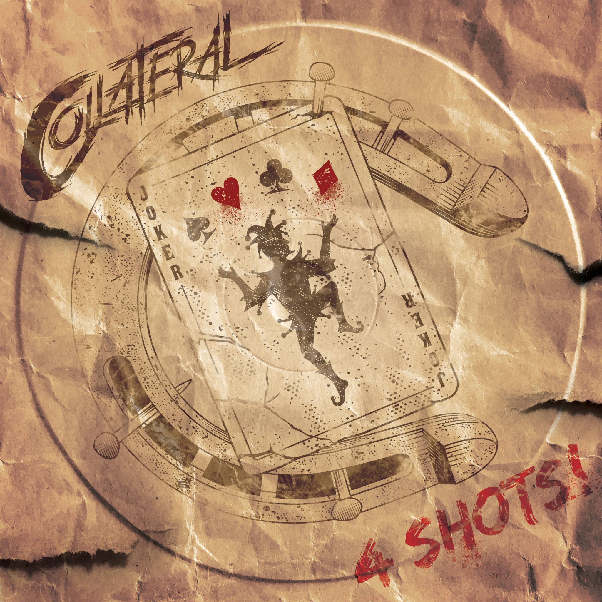 Debut EP 4 Shots building Melodic Rock Collateral