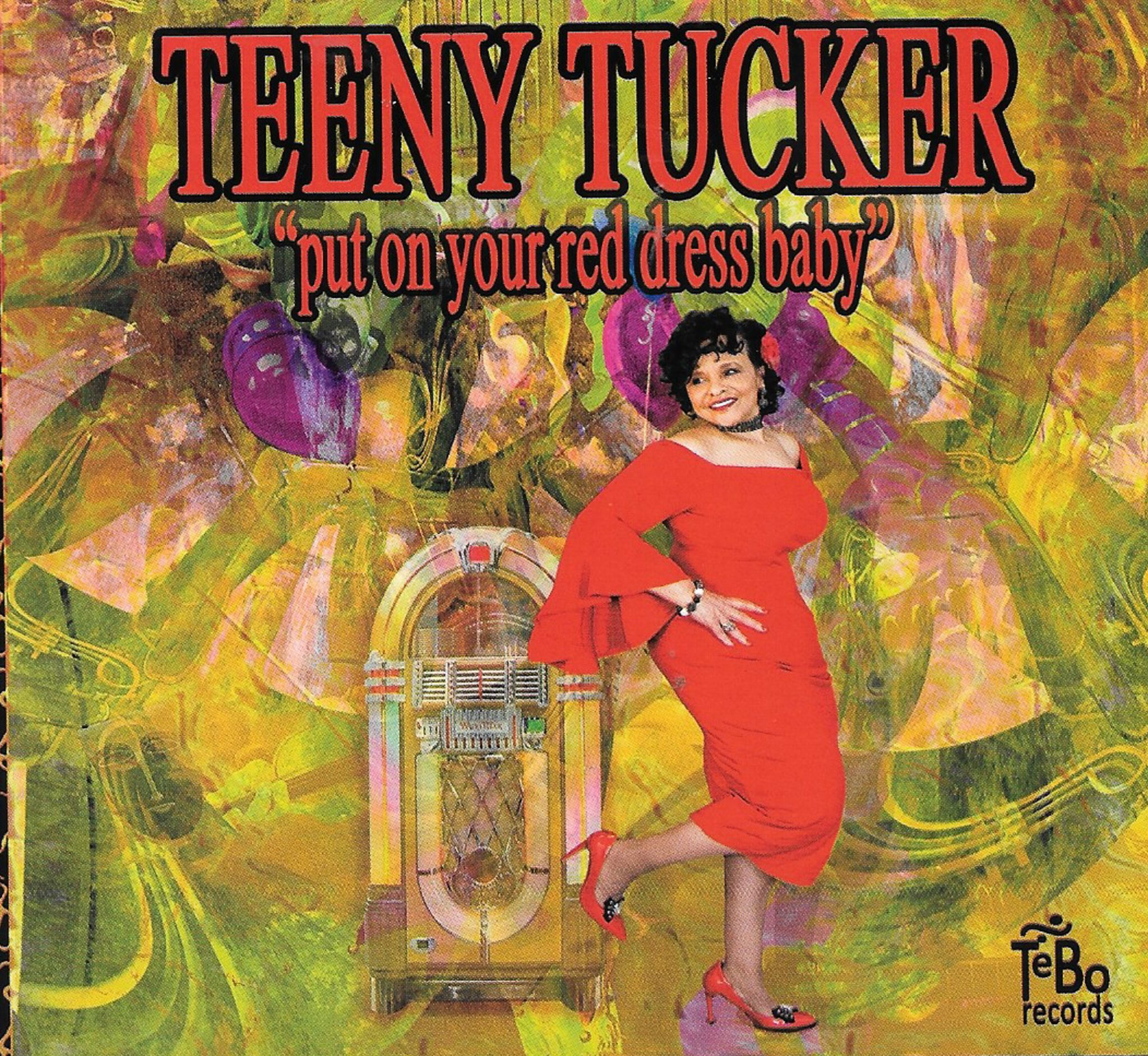 Teeny Tucker Sings Put On Your Red Dress Baby
