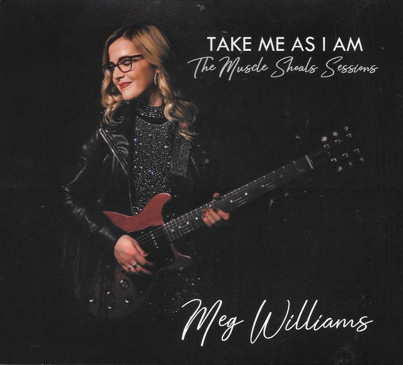Meg Williams shows her Muscle Shoals