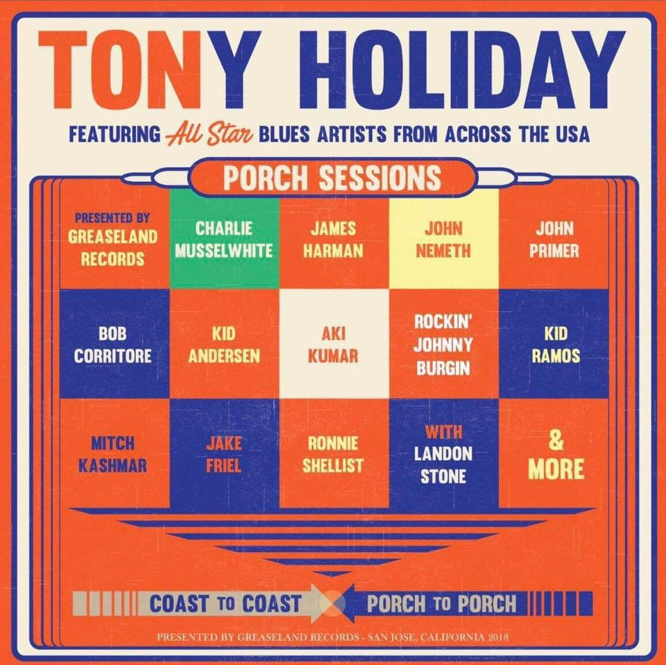 Tony Holiday & Friends sit in on the Porch Sessions