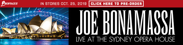 JOE BONAMASSA ANNOUNCES NEW LIVE ALBUM