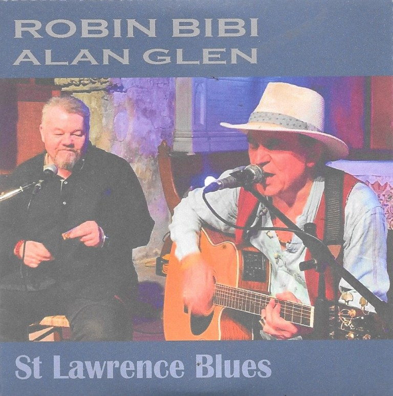 Robin Bibi & Alan Glen say take a pew for live album